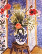 Poppies-Fireworks by Henri Matisse