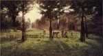 Summer Days at Vernon - Theodore Clement Steele Oil Painting