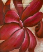 Red Cannas II by Georgia O'Keeffe