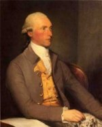 Georg Sugmund Facius - Gilbert Stuart Oil Painting