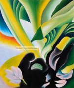Skunk Cabbage by Georgia O'Keeffe