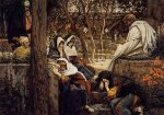 Jesus at Bethany - James Tissot oil painting