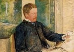 Portrait of Alexander J. Cassatt - Mary Cassatt Oil Painting