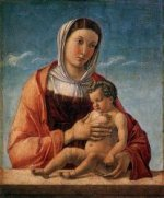 Madonna with the Child III - Giovanni Bellini Oil Painting