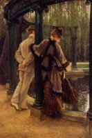 Quarrelling - James Tissot oil painting