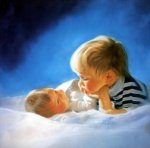 Brotherly Love - Donald Zolan Oil Painting
