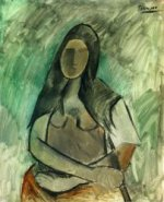 Seated Woman - Oil Painting Reproduction On Canvas
