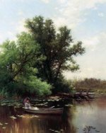 Drifting - Alfred Thompson Bricher Oil Painting