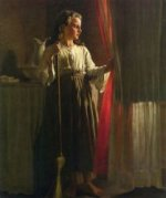 The Little Servant - John George Brown Oil Painting
