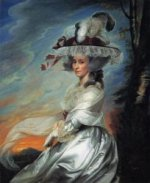 Mrs. Daniel Denison Rogers (Abigail Bromfield) - Oil Painting Reproduction On Canvas