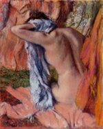 After the Bath 6 - Edgar Degas Oil Painting