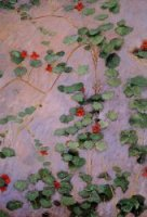 Nasturtiums II - Gustave Caillebotte Oil Painting