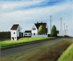 Route 6, Eastham - Edward Hopper Oil Painting