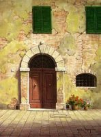 Arc Door - Oil Painting Reproduction On Canvas