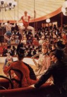 The Sporting Ladies - James Tissot oil painting