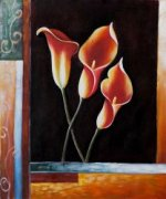 Catherine's Callas - Oil Painting Reproduction On Canvas