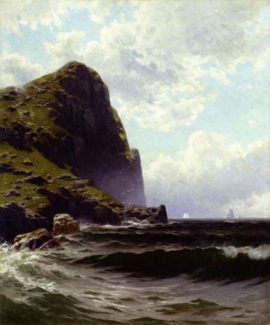 Brundith Head, Grand Manan - Canvas Alfred Thompson Bricher Oil Painting
