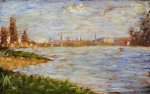The Riverbanks - Oil Painting Reproduction On Canvas