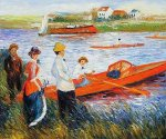 Oarsmen at Chatou II - Oil Painting Reproduction On Canvas