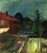 Summer Night, Asgardstrand - Edvard Munch Oil Painting