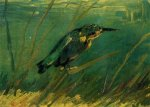 The Kingfisher - Vincent Van Gogh Oil Painting