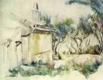 Jourdan's Cottage - Paul Cezanne Oil Painting