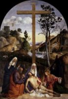 Lamentation over the Dead Christ - Giovanni Bellini Oil Painting