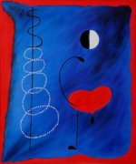 La Danseuse - Joan Miro Oil Painting