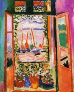 Open window at Collioure - Henri Matisse Oil Painting