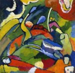 Two Riders and Reclining Figure - Oil Painting Reproduction On Canvas
