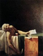 The Death of Marat - Jacques-Louis David Oil Painting