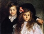 Conrad and Reine Ormand - John Singer Sargent Oil Painting