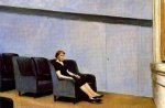 Intermission - Edward Hopper Oil Painting