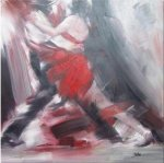 Dancing Man and Woman 1 - Oil Painting Reproduction On Canvas