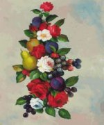 Flowers Bearing Fruit - Oil Painting Reproduction On Canvas