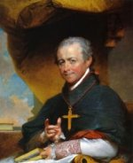Bishop Jean-Louis Anne Magdelaine Lefebvre de Cheverus - Gilbert Stuart Oil Painting