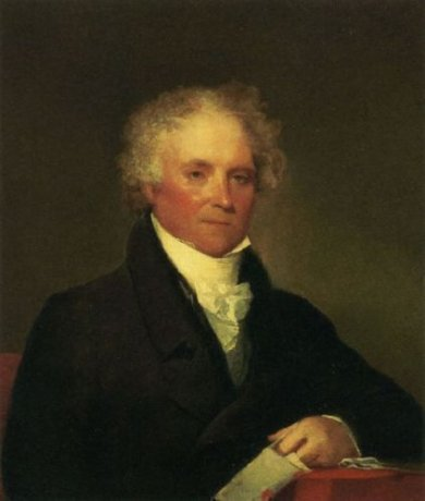 John Haven - Gilbert Stuart Oil Painting