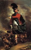 Major Hugh Montgomerie - John Singleton Copley Oil Painting