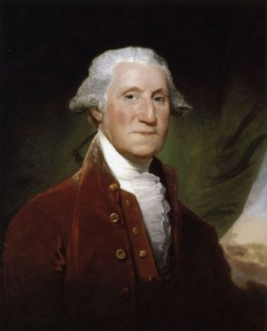 George Washington XII - Gilbert Stuart Oil Painting