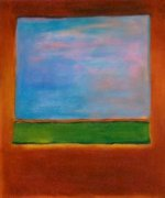 Violet, Green and Red, 1951 - Mark Rothko Oil Painting
