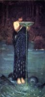 Circe Invidiosa - Oil Painting Reproduction On Canvas