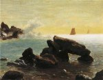 Farralon Islands, California - Albert Bierstadt Oil Painting
