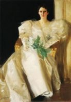 Portrait of Mrs. Eben Richards - Oil Painting Reproduction On Canvas
