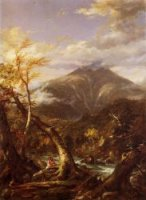 Indian Pass-Tahawus - Thomas Cole Oil Painting