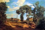 The Banks of the Lez - Oil Painting Reproduction On Canvas