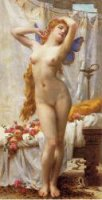 The Awakening of Psyche - Guillaume Seignac Oil Painting