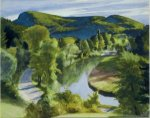 First Branch of the White River, Vermont - Edward Hopper Oil Painting