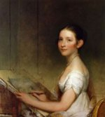 Lydia Smith - Gilbert Stuart Oil Painting