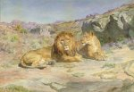 Royalty at Home - Rosa Bonheur Oil Painting