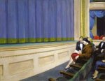 First Row Orchestra - Edward Hopper Oil Painting